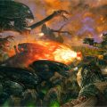 UDON Entertainment's Alien Visions artbook includes brand new artwork by Dave Dorman!