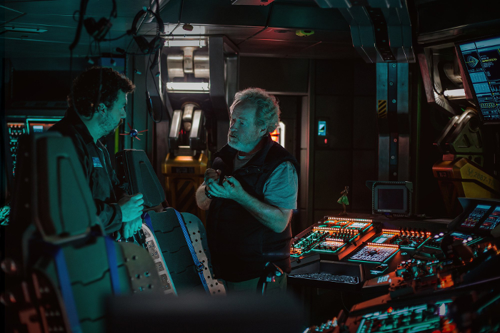 We now have our first look at Danny McBride in Alien: Covenant! First Look at Danny McBride in Alien: Covenant!
