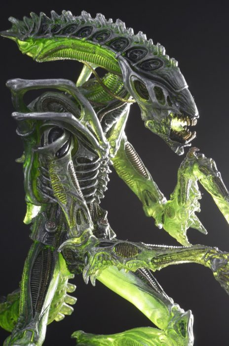 Mantis Alien NECA Reveals Aliens Series 10 - Kenner Tribute