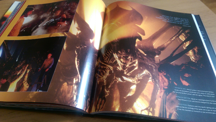Aliens: The Set Photography wont reveal brand new stills but it is a wonderfully presented book.  Aliens: The Set Photography Review