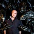Trevor Steedman in Andrew David Clark's documentary Alien Encounters: Superior Fan Power Since 1979.