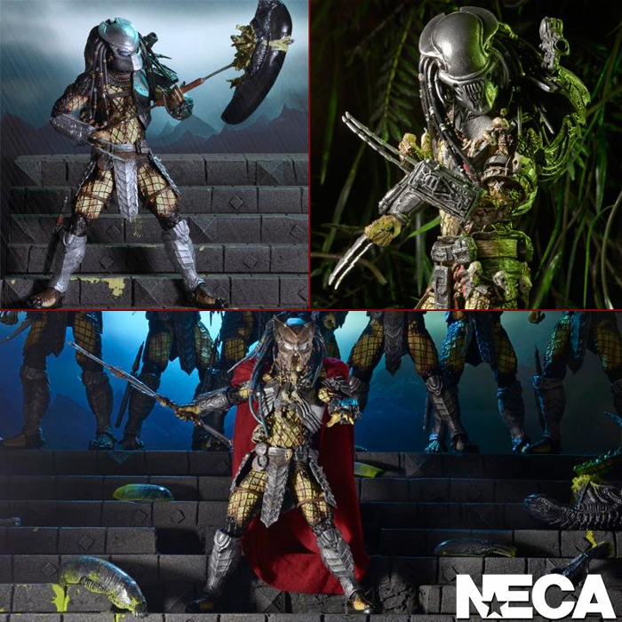 NECA Announces Predator Series 17 - Youngblood, Elder and Serpent Hunter! NECA Announces Predator Series 17 - Youngblood, Elder and Serpent Hunter