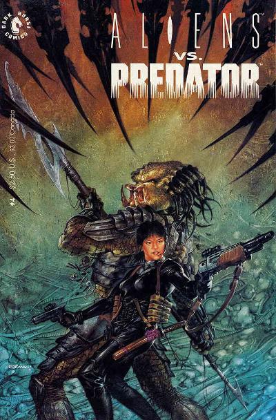 Like the original Aliens vs. Predator comic and book, the alliance between mankind and Predators in the Rage War felt very natural.  Alien vs. Predator: Armageddon (The Rage War Part 3)  Review