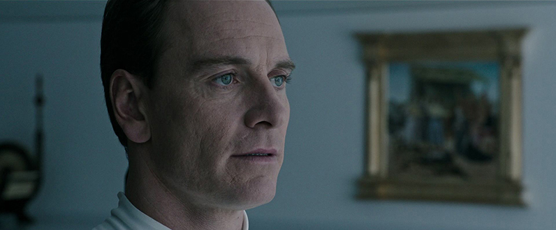 Michael Fassbender Talks David's Character Development