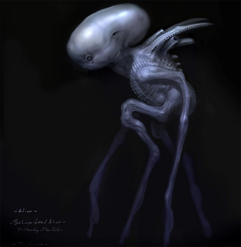 Carlos Huante Talks Alien: Covenant Concept Work