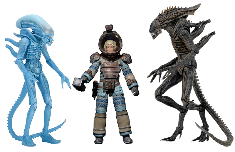 NECA Announces Aliens Series 11 - Lambert, Aliens: Defiance & Kenner Tribute