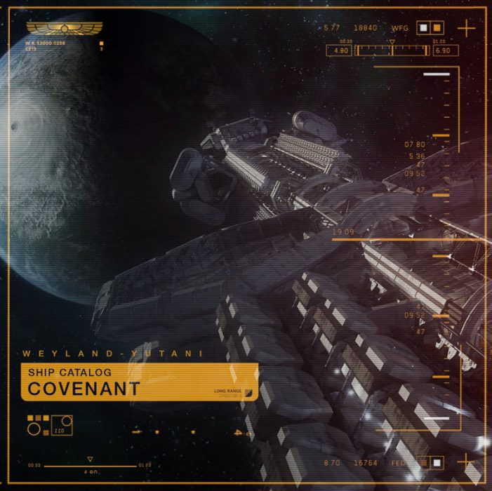 The Covenant - New Alien: Covenant Marketing Image