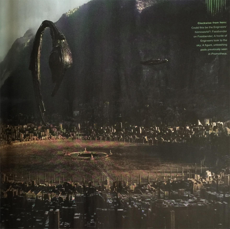 Latest Empire Alien: Covenant Article Images!