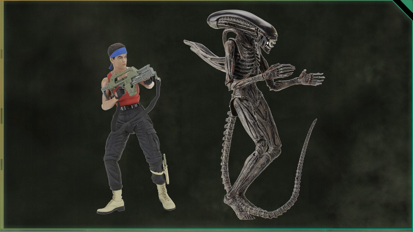 NECA's Alien: Covenant Alien Figure Revealed!