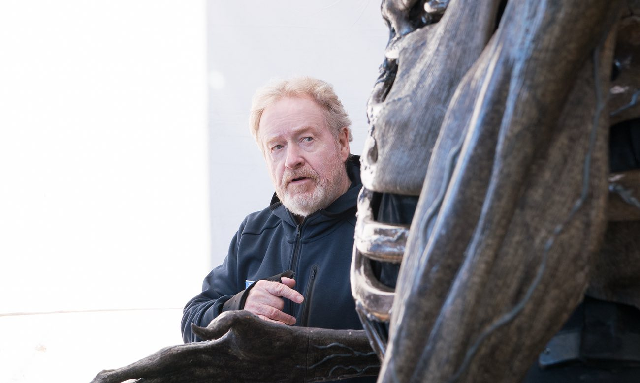 Ridley Scott Talks Alien: Covenant Budget Plus a New Behind-the-Scenes Still