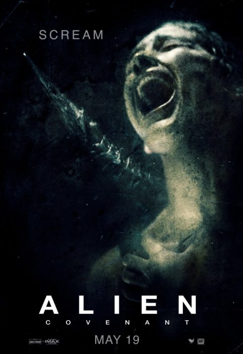 Three New Alien Covenant Posters: Hide, Scream, Pray