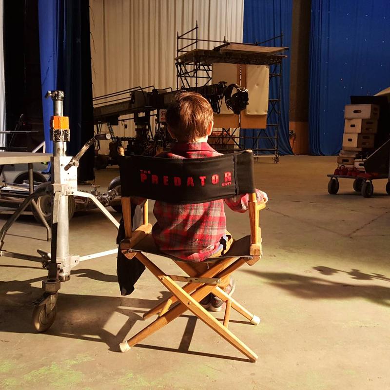 The Predator Wraps Filming Today!