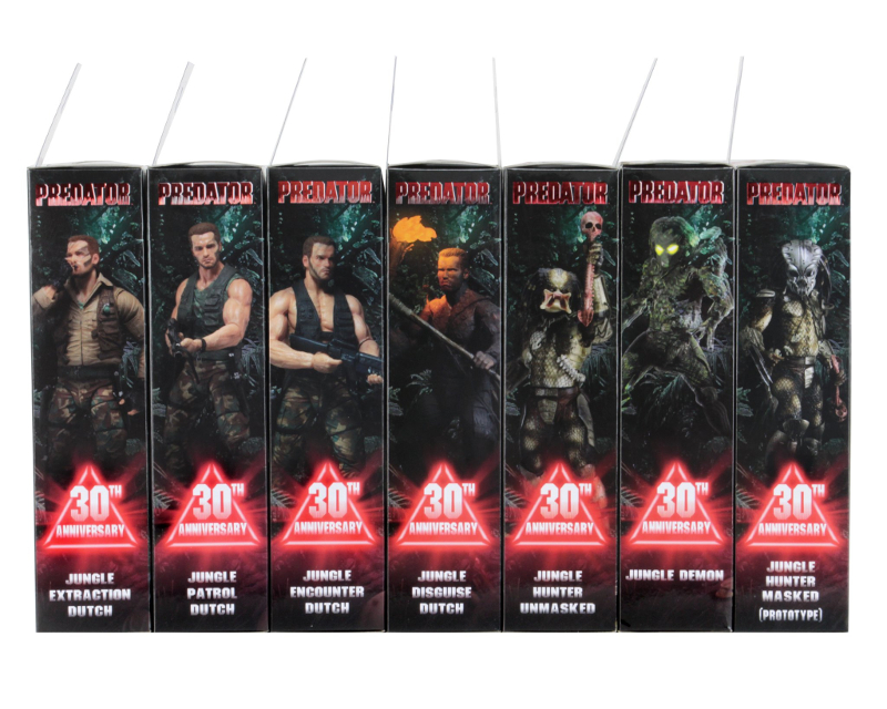 NECA Unveil Comic Focused Predator Series 18!