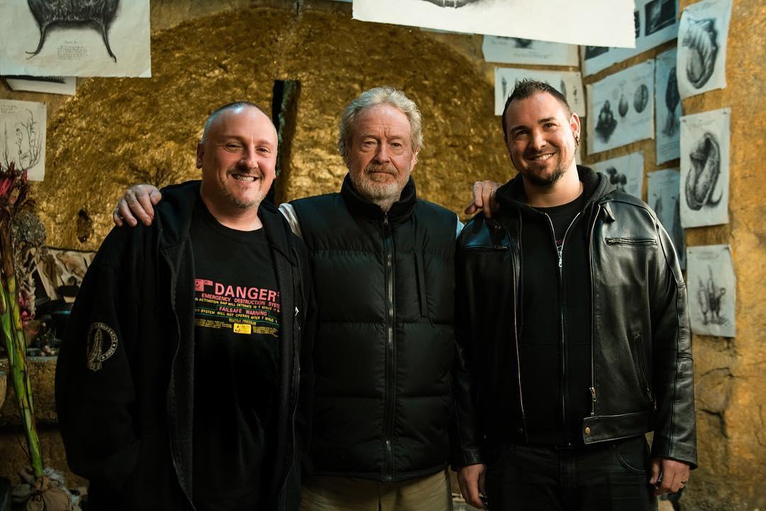 Interview with Alien: Covenant Illustrators Dane Hallett & Matt Hatton - AvPGalaxy Podcast #52