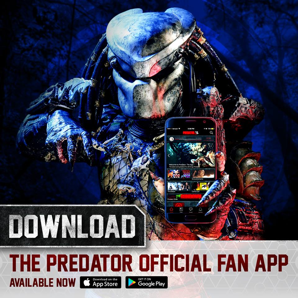 The Predator Official Fan App Has Been Released!