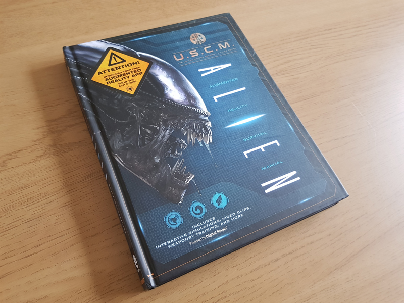 AvPGalaxy Reviews The Book of Alien: Augmented Reality Survival Manual