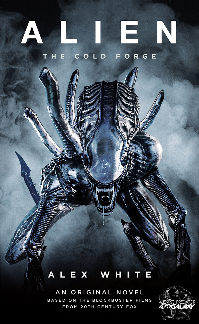 AvPGalaxy Exclusive - Alien: The Cold Forge Cover Reveal!