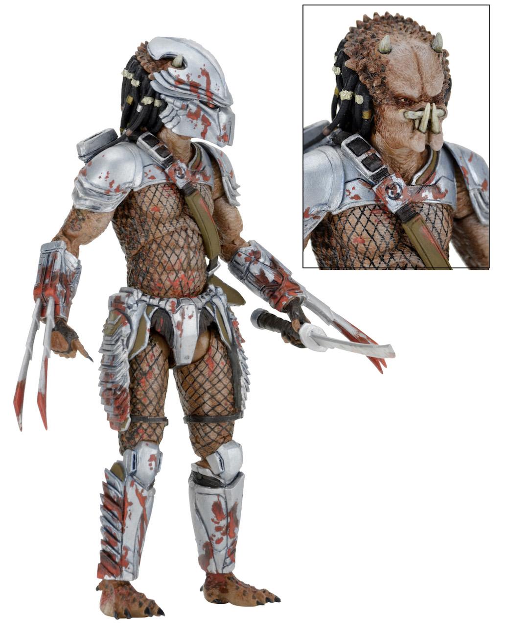 Neca Predator Series 18 Hornhead Broken Tusk Machiko