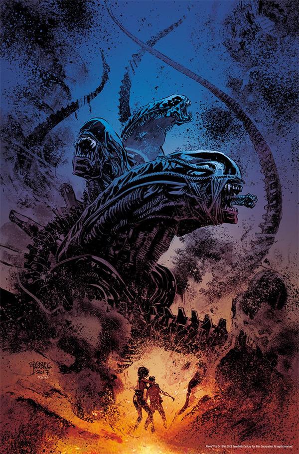 Dark Horse Comics Announce Aliens: Dust to Dust!