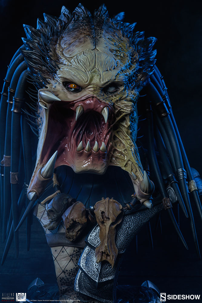 Wolf Predator Bust (Sideshow Collectibles) - AvPGalaxy