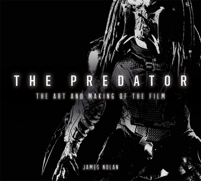 Art and Making of The Predator Cover Shows New Predator Design