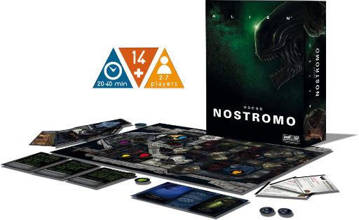 USCSS Nostromo - Alien: The Board Game!