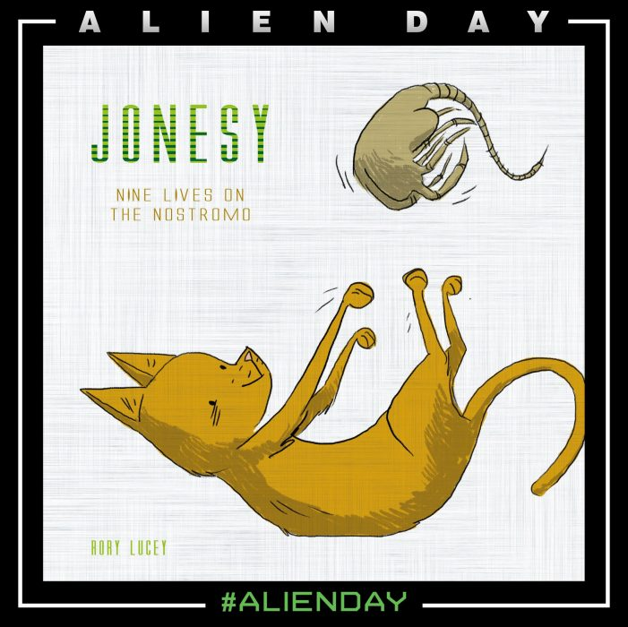 Jonesy - Nine Lives on the Nostromo - New Alien Book Announced