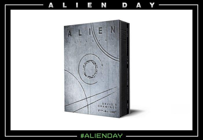 Alien: Covenant - David's Drawings Announced!