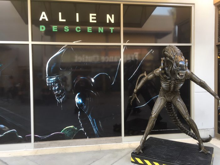 Hands-On With Alien: Descent - Alien VR Experience