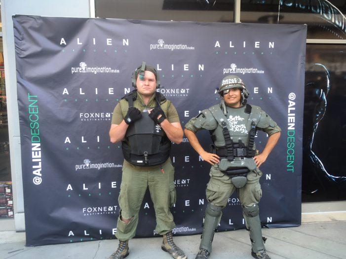 Hands-On With Alien: Descent - Alien VR Experience