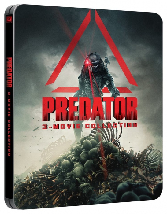 Predator Films to Receive 4K and New Steelbook Releases