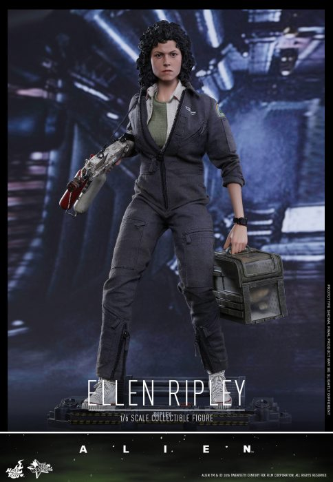 AvP Galaxy Competition - Hot Toys Ellen Ripley Sixth Scale Figure