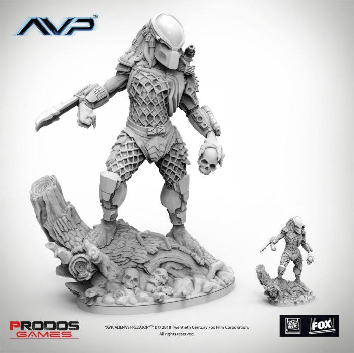 AvP Galaxy Competition - Prodos Games' Predator Jungle Hunter Statue