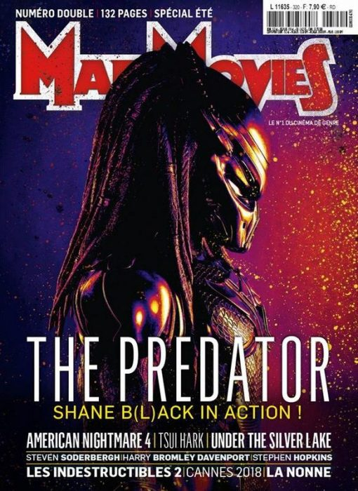 New The Predator Image on Cover of Mad Movies Magazine