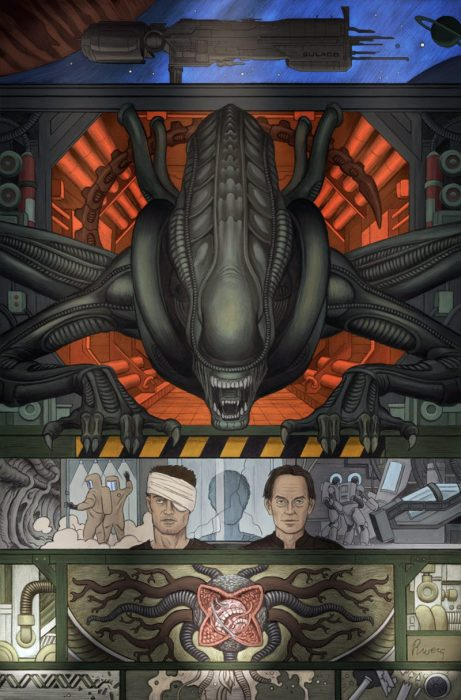 William Gibson's Alien 3 Comic Series Announced!