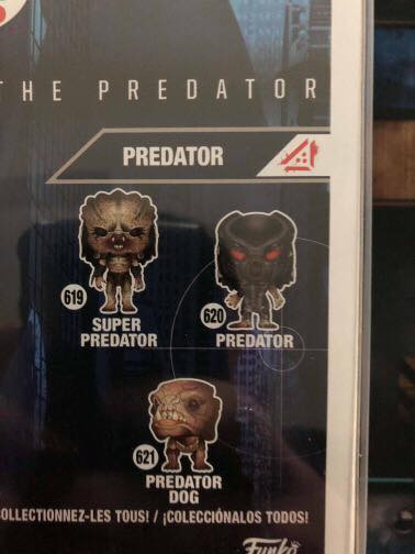 The Predator Pop Funko Offers First Look at Predator Dog