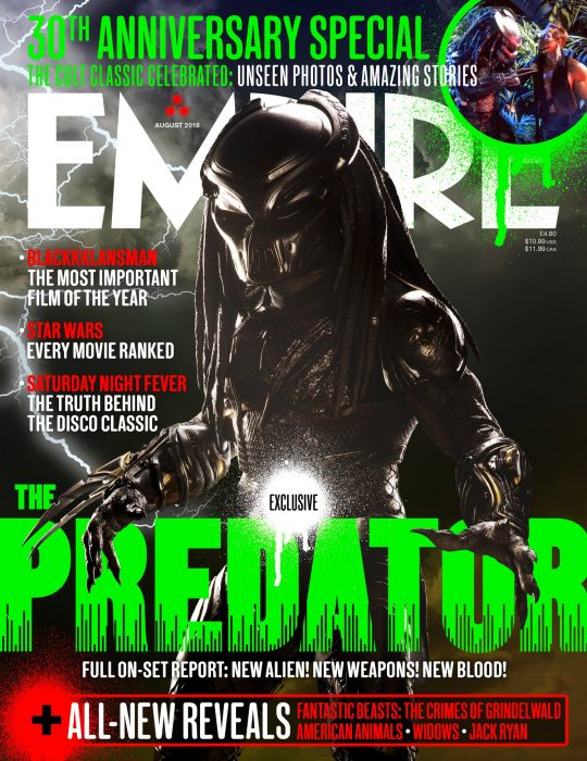 The Predator Hunts The New Issue of Empire Magazine
