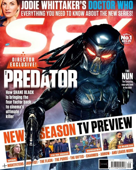 More The Predator Coverage in SFX & Starburst Magazines!