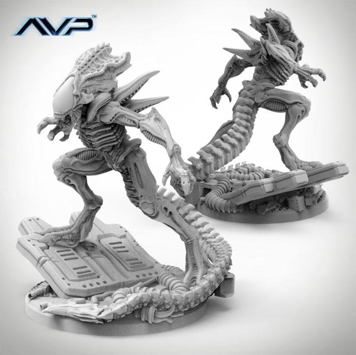 AvP Galaxy Competition - Prodos Games' Evolved Warriors & Unicast Praetorian!