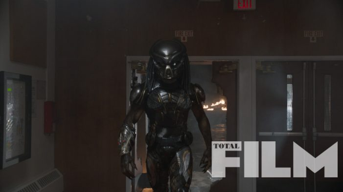 The Predator Makes An Entrance in New Stills from Total Film