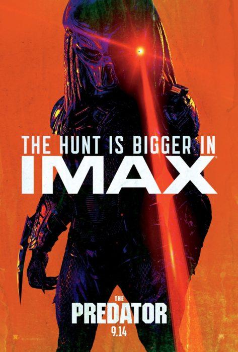 The Predator Targets New IMAX Poster & TV Spot