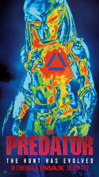 The Predator Is Back In Thermal In New Poster!