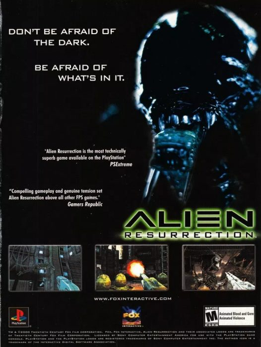 The Making of Alien: Resurrection - The Game