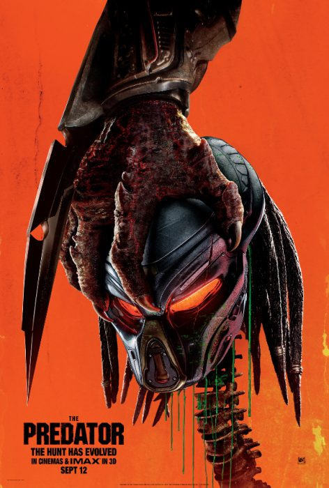 The Predator Officially Released in UK!