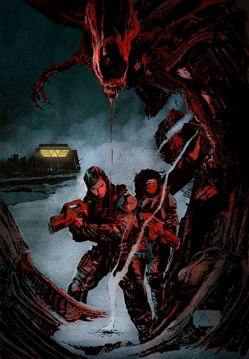 Amanda Ripley & Zula Hendricks Return for New Comic Aliens: Resistance