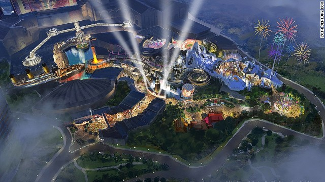 20th Century Fox World Malaysia - Construction Update for Alien/Predator Attractions
