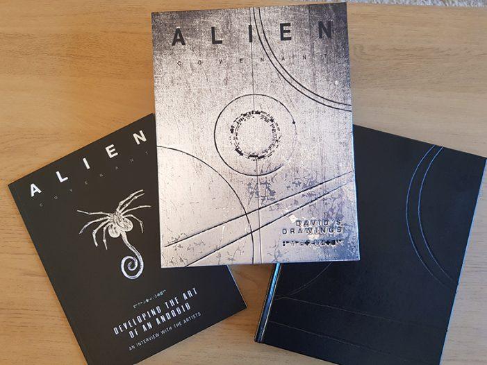 Alien: Covenant - David's Drawings Review