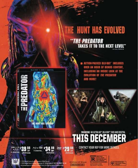 Here's the Special Features for The Predator Blu-Ray Set