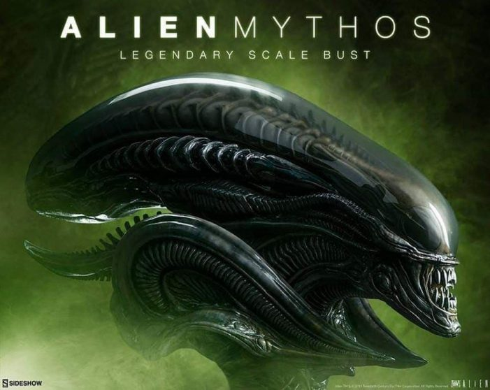 Sideshow Collectibles Announces New Alien Mythos Bust!
