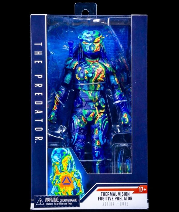 NECA's Thermal Vision Fugitive Predator Hits Target